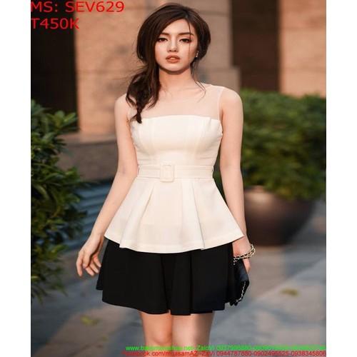 Sét áo kiểu peplum phối lưới và chân váy xòe ngắn sev629 - 19145814 , 21985511 , 15_21985511 , 450000 , Set-ao-kieu-peplum-phoi-luoi-va-chan-vay-xoe-ngan-sev629-15_21985511 , sendo.vn , Sét áo kiểu peplum phối lưới và chân váy xòe ngắn sev629