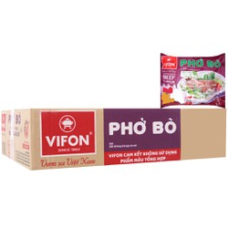 Thùng 30 gói phở vị bò Vifon 65g