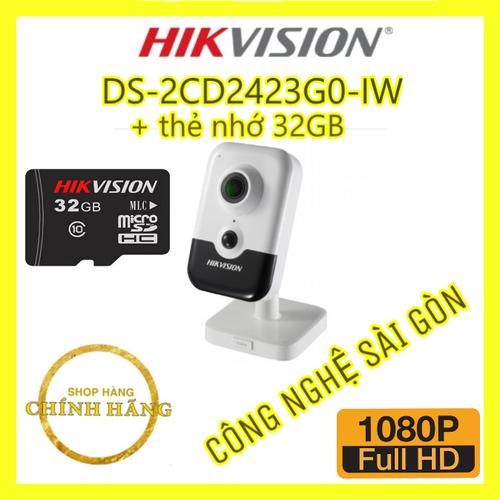Camera ip cube hồng ngoại không dây 2.0 megapixel hikvision ds-2cd2423g0-iw, thẻ nhớ 32gb - 19414428 , 22017854 , 15_22017854 , 2345000 , Camera-ip-cube-hong-ngoai-khong-day-2.0-megapixel-hikvision-ds-2cd2423g0-iw-the-nho-32gb-15_22017854 , sendo.vn , Camera ip cube hồng ngoại không dây 2.0 megapixel hikvision ds-2cd2423g0-iw, thẻ nhớ 32gb