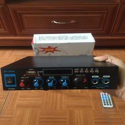 Amply mini 12v.220v bluetooth karaoke BT-309A loại xịn, tặng kèm dây 12v, áo thẻ nhớ, ship toàn quốc