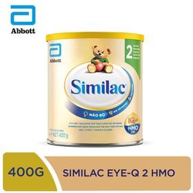 Sữa bột Similac IQ 2 HMO hương vani 400g - ABB1SIM016342