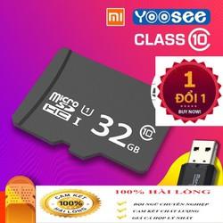 Thẻ nhớ chính hãng 32GB tốc độ cao, dung lượng khủng