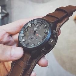 Đồng hồ nam SKMEI chính hãng SK9058.02G Tặng vòng tay phong thuỷ