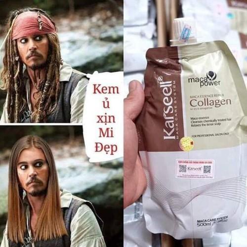Xả kho ủ tóc collagen karsell