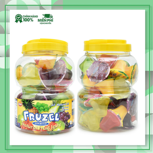 Rau câu fruzel natural fruit jelly hương trái cây|rau cau fruzel xuất xứ mỹ 1,45kg 38 viên - 17677151 , 22036899 , 15_22036899 , 295000 , Rau-cau-fruzel-natural-fruit-jelly-huong-trai-cayrau-cau-fruzel-xuat-xu-my-145kg-38-vien-15_22036899 , sendo.vn , Rau câu fruzel natural fruit jelly hương trái cây|rau cau fruzel xuất xứ mỹ 1,45kg 38 viên