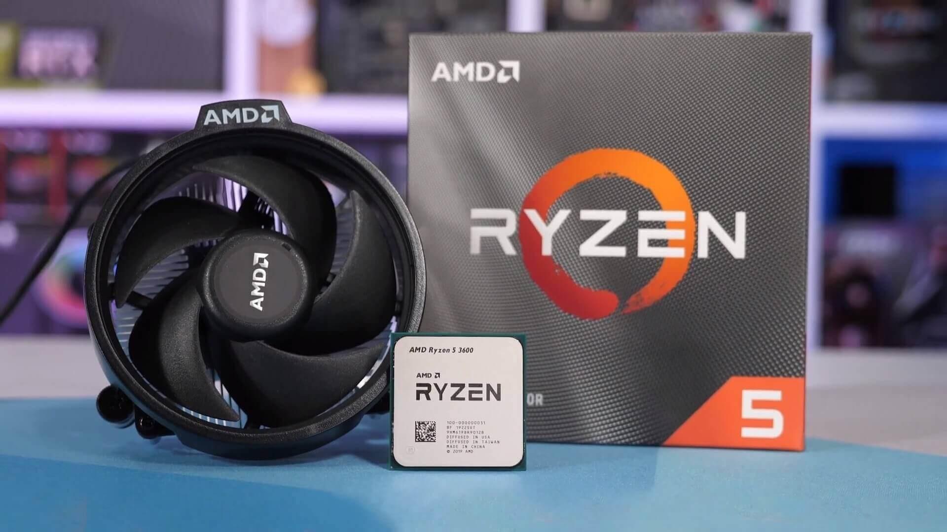 CPU AMD RYZEN 5 3600 box new - CPU AMD RYZEN 5 3600