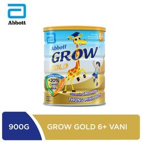 Sữa bột Abbott Grow Gold 6+ hương vani 900g - GRO016374