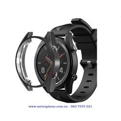 Khung viền silicon dẻo bảo vệ đồng hồ thông minh Huawei Watch GT 46mm
