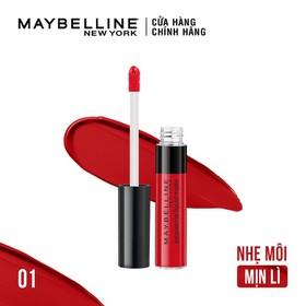 Son Kem Lì Nhẹ Môi Maybelline New York Sensational Liquid Matte Lipstick 7ml - 6902395722984