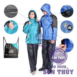 bộ áo mưa siêu nhẹ người lớn Sơn Thủy