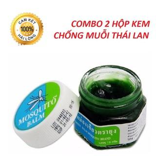 [SIÊU SALE] Combo 2 Kem chống đuổi muỗi ThaiLan cho bé - Atmshop - 2 hop kem thumbnail