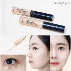 Kem che khuyết điểm The Saem độ che phu siêu tốt che các vết thâm mụn, sẹo, quầng thâm mắt dễ dàng