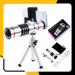 Lens chụp hình cho điện thoại Tele Zoom 18X - Trọn bộ full phụ kiện