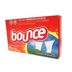 Giấy thơm Bounce Mỹ dùng cho máy giặt sấy,hộp 40 tờ