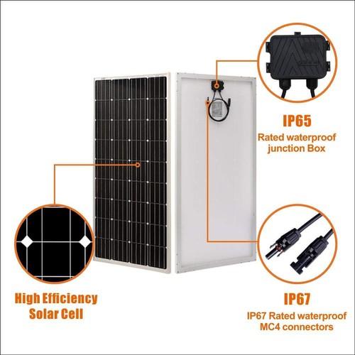 Tấm pin mặt trời 150w hiệu suất cao