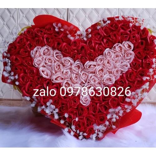 Bó hoa hồng sáp thơm cao cấp hình trái tim 99 bông. - 17685541 , 22047899 , 15_22047899 , 1000000 , Bo-hoa-hong-sap-thom-cao-cap-hinh-trai-tim-99-bong.-15_22047899 , sendo.vn , Bó hoa hồng sáp thơm cao cấp hình trái tim 99 bông.