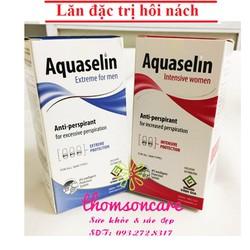 Lăn nách Aquaselin cho Nam và Nữ , ngừa hôi nách , Lăn khử mùi aquaselin Chai 50ml
