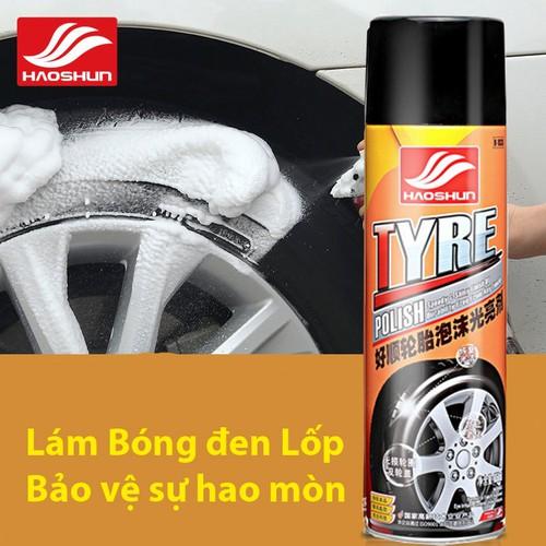 Chai xịt dưỡng bóng lốp xe ô tô, xe máy, chai lớn 650ml - tyre polish - 17689016 , 22052145 , 15_22052145 , 85000 , Chai-xit-duong-bong-lop-xe-o-to-xe-may-chai-lon-650ml-tyre-polish-15_22052145 , sendo.vn , Chai xịt dưỡng bóng lốp xe ô tô, xe máy, chai lớn 650ml - tyre polish