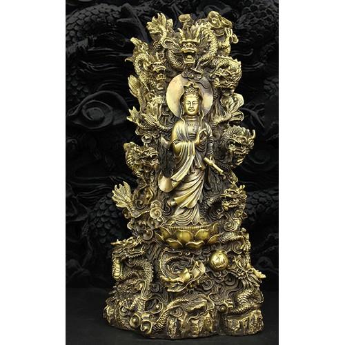 Tượng phật quán thế âm bồ tát cưỡi chín rồng bằng đồng thau phong thủy hồng thắng - 17678410 , 22038595 , 15_22038595 , 3500000 , Tuong-phat-quan-the-am-bo-tat-cuoi-chin-rong-bang-dong-thau-phong-thuy-hong-thang-15_22038595 , sendo.vn , Tượng phật quán thế âm bồ tát cưỡi chín rồng bằng đồng thau phong thủy hồng thắng