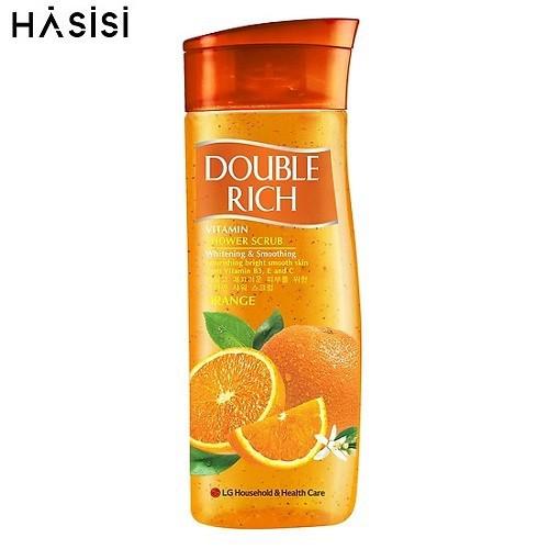 Sữa tắm có hạt hương trái cây double rich - cam 420g - 17695302 , 22060133 , 15_22060133 , 102000 , Sua-tam-co-hat-huong-trai-cay-double-rich-cam-420g-15_22060133 , sendo.vn , Sữa tắm có hạt hương trái cây double rich - cam 420g