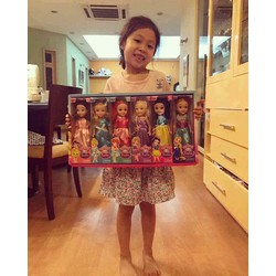 Bộ búp bê công chúa 6 con cho bé