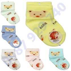 Combo gồm 12 đôi tất cao cổ cotton len giữ ấm cho bé sơ sinh từ 0 - 3 tháng , tất sơ sinh giá rẻ, tất cho bé sơ sinh ,đồ cho trẻ sơ sinh