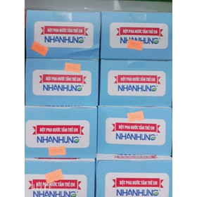 combo 5 hộp bột tắm Trẻ em Nhân Hưng - tắm NH 5
