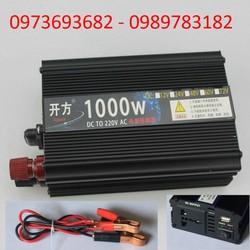 bộ chuyển đổi điện 12v lên 220 - bộ kích điện 12v lên 220v 1000w
