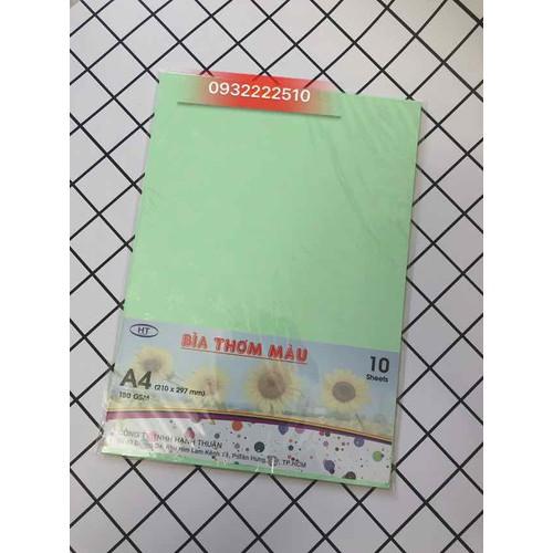 Bìa giấy thơm a4 dày xấp 10 tờ - 17692196 , 22056174 , 15_22056174 , 9000 , Bia-giay-thom-a4-day-xap-10-to-15_22056174 , sendo.vn , Bìa giấy thơm a4 dày xấp 10 tờ