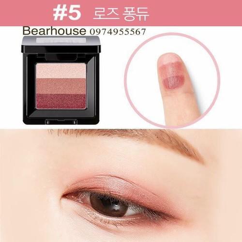 Phấn mắt 3 màu missha the style triple perfection shadow nhập khẩu chính hãng