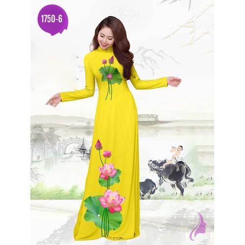 Vải áo dài in hoa sen - 17714091 , 22084166 , 15_22084166 , 270000 , Vai-ao-dai-in-hoa-sen-15_22084166 , sendo.vn , Vải áo dài in hoa sen