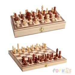 Bộ cờ vua bằng gỗ ĐẸP, gọn nhẹ, loại vừa, Cờ vua bằng gỗ, Cờ vua bằng gỗ