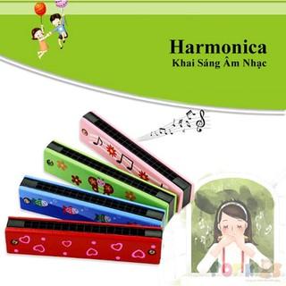 Đồ chơi nhạc cụ cho bé, harmonica gỗ trẻ em, Kèn harmonica, Kèn harmonica - kenharmonica thumbnail