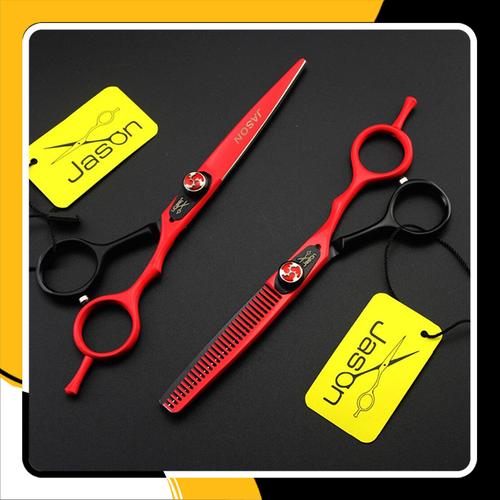 Bộ kéo cắt tóc cao cấp nhật bản jason js525 - đỏ phối đen 5.5 inch - 17713759 , 22083779 , 15_22083779 , 545000 , Bo-keo-cat-toc-cao-cap-nhat-ban-jason-js525-do-phoi-den-5.5-inch-15_22083779 , sendo.vn , Bộ kéo cắt tóc cao cấp nhật bản jason js525 - đỏ phối đen 5.5 inch