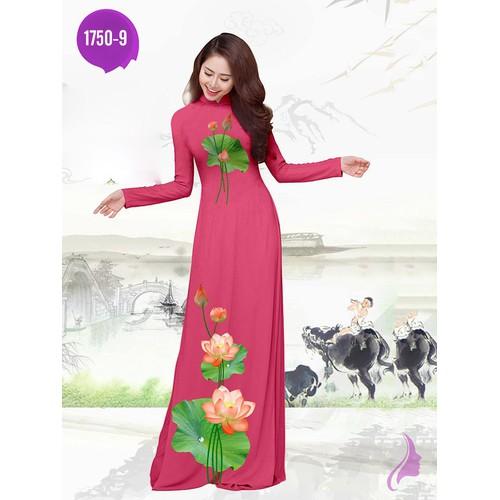 Vải áo dài in hoa sen - 17714454 , 22084669 , 15_22084669 , 270000 , Vai-ao-dai-in-hoa-sen-15_22084669 , sendo.vn , Vải áo dài in hoa sen