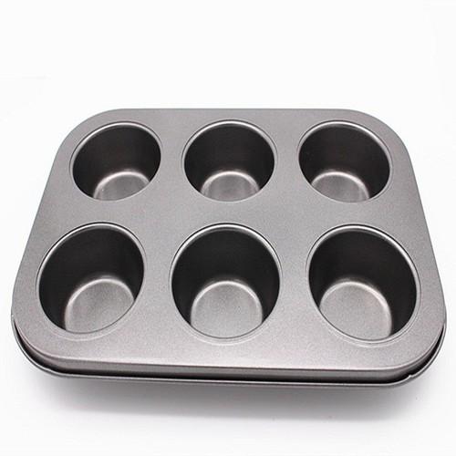 Khuông nướng bánh chống dính 6 ô - 17711874 , 22081592 , 15_22081592 , 45000 , Khuong-nuong-banh-chong-dinh-6-o-15_22081592 , sendo.vn , Khuông nướng bánh chống dính 6 ô