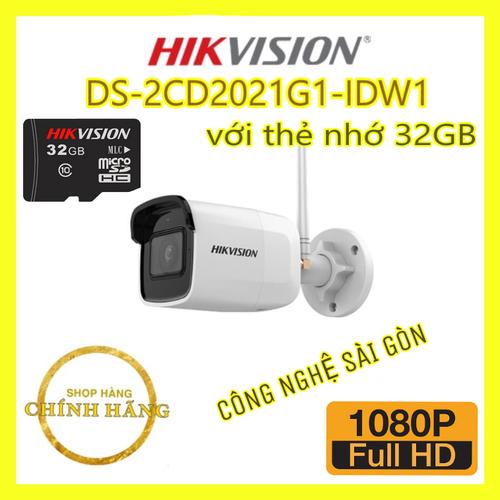 Camera ip hồng ngoại không dây ds-2cd2021g1-idw1 2.0 megapixel hikvision, thẻ nhớ 32gb - 17702712 , 22070282 , 15_22070282 , 2320000 , Camera-ip-hong-ngoai-khong-day-ds-2cd2021g1-idw1-2.0-megapixel-hikvision-the-nho-32gb-15_22070282 , sendo.vn , Camera ip hồng ngoại không dây ds-2cd2021g1-idw1 2.0 megapixel hikvision, thẻ nhớ 32gb