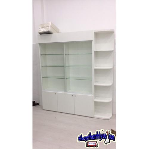 Thanh lý tủ kệ kính trưng bày cao cấp giá rẻ tktb-399 - 17716230 , 22086879 , 15_22086879 , 7500000 , Thanh-ly-tu-ke-kinh-trung-bay-cao-cap-gia-re-tktb-399-15_22086879 , sendo.vn , Thanh lý tủ kệ kính trưng bày cao cấp giá rẻ tktb-399