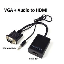 Cáp chuyển tín hiệu VGA to HDMI Audio Full HD - VGA to HDMI 2