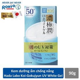 Kem dưỡng ẩm chống nắng ban ngày Hada Labo Koi-Gokujyun UV White Gel SPF50+ PA++++ 90g - RMV-RJ-HDLB-UWG