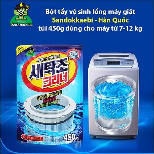 Bột tẩy vệ sinh lồng máy giặt sandokkaebi- hàn quốc - 17087582 , 22077374 , 15_22077374 , 70000 , Bot-tay-ve-sinh-long-may-giat-sandokkaebi-han-quoc-15_22077374 , sendo.vn , Bột tẩy vệ sinh lồng máy giặt sandokkaebi- hàn quốc