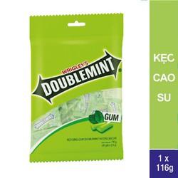Kẹo cao su Doublemint Peppermint túi 40 gói 2 viên