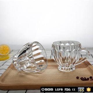 Bộ cốc thủy tinh 6 chiếc-Cốc uống trà-Ly thủy tinh - B6CTTLP125-Z thumbnail