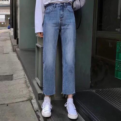 Quần jeans suông tua ống cực xinh qj08 freeship từ 99k - 17701067 , 22067705 , 15_22067705 , 320000 , Quan-jeans-suong-tua-ong-cuc-xinh-qj08-freeship-tu-99k-15_22067705 , sendo.vn , Quần jeans suông tua ống cực xinh qj08 freeship từ 99k