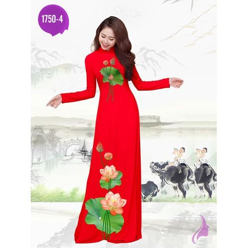 Vải áo dài in hoa sen - 17713721 , 22083734 , 15_22083734 , 270000 , Vai-ao-dai-in-hoa-sen-15_22083734 , sendo.vn , Vải áo dài in hoa sen