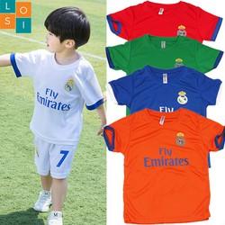 FREESHIP Combo 5 bộ đồ thể thao cho bé trai từ 12-30kg thun thoáng mát