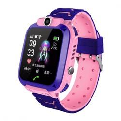 Đồng hồ thông minh đinh vị trẻ em A28 chống nước màu hồng