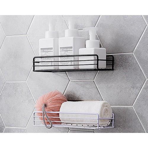 Giá để đồ đa năng phòng tắm khung lưới h4