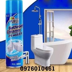 chai xịt bọt vệ sinh phòng tắm
