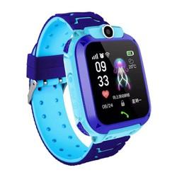 Đồng hồ thông minh định vị trẻ em A28 chống nước màu xanh dương